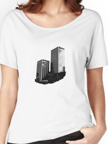 Twin Building Women's Relaxed Fit T-Shirt
