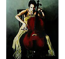 Cello Photographic Print