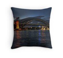 Sunset at Circular Quay Throw Pillow