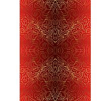 Floral Abstract Damasks Photographic Print