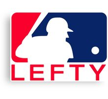 Major League Lefty Canvas Print