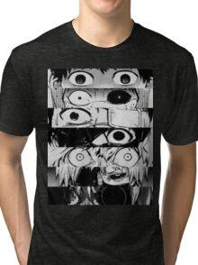 Kaneki - All stages - Tokyo Ghoul Tri-blend T-Shirt
