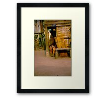 little people Framed Print
