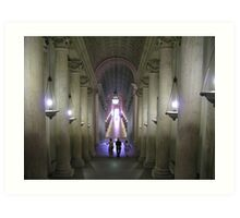 Vatican Museum Art Print