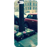 Snowy Cars in NYC iPhone Case/Skin