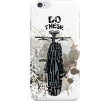 Fat bikers unite! iPhone Case/Skin