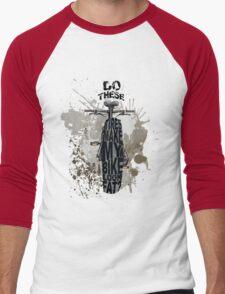 Fat bikers unite! Men's Baseball ¾ T-Shirt