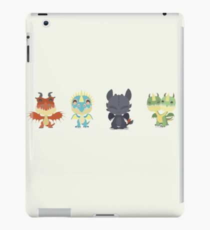 "Tiny Dragons ""How To Train Your Dragon"" iPad Case/Skin"