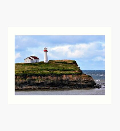 Point Aconi Light Art Print