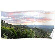 Reflections of Day - Medlow Bath - Blue Mountains Series, Australia Poster