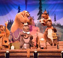 Disney Country Bears Disney Bears  by notheothereye