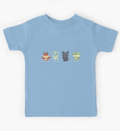 """Tiny Dragons """"How To Train Your Dragon"""" Kids Tee"""