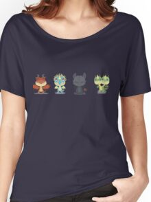 "Tiny Dragons ""How To Train Your Dragon"" Women's Relaxed Fit T-Shirt"