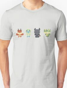 "Tiny Dragons ""How To Train Your Dragon"" T-Shirt"