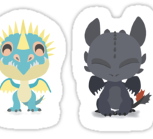 "Tiny Dragons ""How To Train Your Dragon"" Sticker"