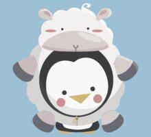 Penguin/Sheep One Piece - Short Sleeve