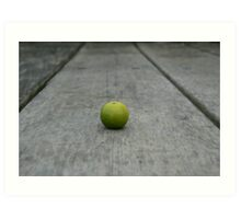 Lime No. 1 Art Print