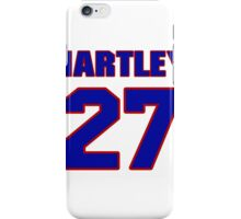 National baseball player Grover Hartley jersey 27 iPhone Case/Skin