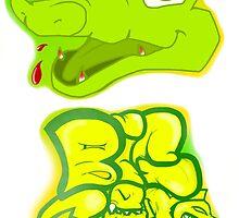 Little Gator, Big Bite by LazyChimera