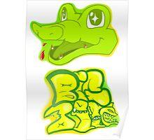 Little Gator, Big Bite Poster
