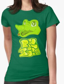 Little Gator, Big Bite Womens Fitted T-Shirt