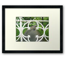 Cookie-Cutter Bridge NYC Framed Print