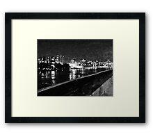 NYC Skyline East River Framed Print
