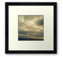 Sky of Ocean in Truro (Cape Cod) Framed Print