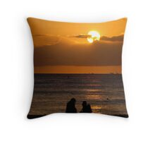 Beginning and Ending Throw Pillow