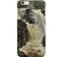 Waterfall - Fort Colunge, Quebec iPhone Case/Skin
