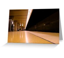 Schwabstrasse Station Stuttgart  Greeting Card