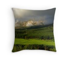 Exotic Mt Mulanje and its tea estates Throw Pillow