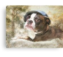 I Love My Hat  Canvas Print