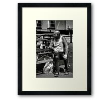 Tough as Old Boots Framed Print