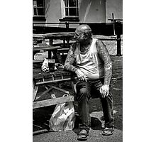 Tough as Old Boots Photographic Print