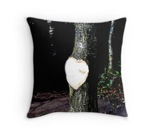 heart exposed ... Throw Pillow