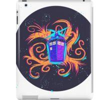 Swirly Twirly Tardis iPad Case/Skin