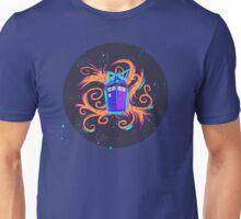 Swirly Twirly Tardis Unisex T-Shirt