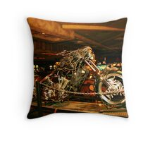 Detailed chopper Throw Pillow