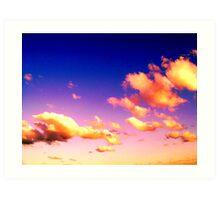 Cosmic Skies Art Print
