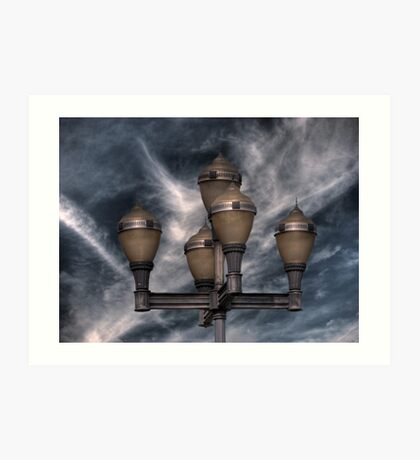 Lampe Art Print