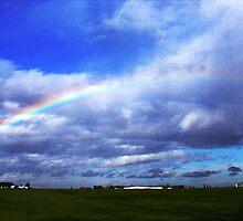 RAINBOW OVER PLAINFIELD by SMOKEYDOGSOCKS