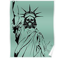 Gas Liberty Poster