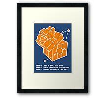 gift 101 Framed Print