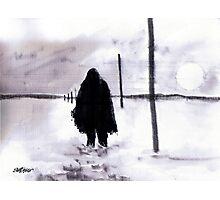 Siberian Stroll Photographic Print