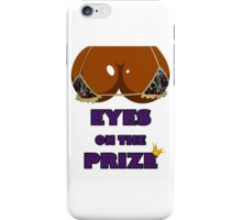 Eyes on the Prize #005 - Graffiti Gold (Ebony Skin) iPhone Case/Skin