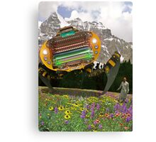The Chitral چترال Doctor unveils the Bedford Truck Landwalker Canvas Print