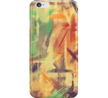 Pastel Colored Abstract Background #4 iPhone Case/Skin