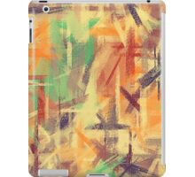 Pastel Colored Abstract Background #4 iPad Case/Skin
