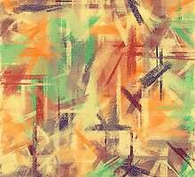 Pastel Colored Abstract Background #4 by Nhan Ngo